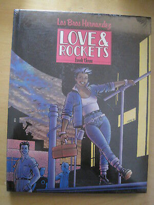 LOVE & ROCKETS Book 3, THREE, 1st PRINT, STILL SEALED, NEW. HARDCOVER.148 pg