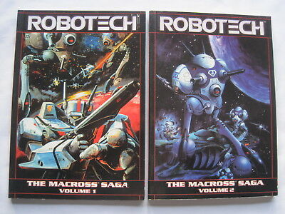ROBOTECH : The MACROSS SAGA, Volumes 1 & 2. Reprinting issues 1-6 & 7-12 COMPLET