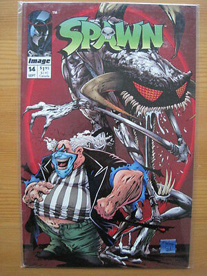 SPAWN   #  14. By  TODD McFARLANE.  NEW.   IMAGE 1993