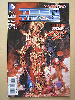 TEEN TITANS  # 11  by LOBDELL & BOOTH.    THE NEW 52 !     DC.  2012