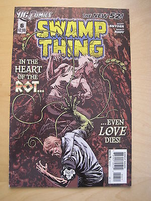 Swamp  Thing  #  6 . By  Scott Snyder.   The New 52. Great Cover ! Dc. 2012