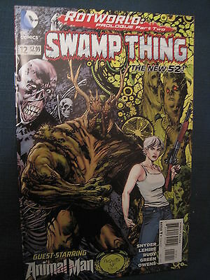 Swamp  Thing  #  12 . By  Scott Snyder.   The New 52. Great Cover ! Dc. 2012