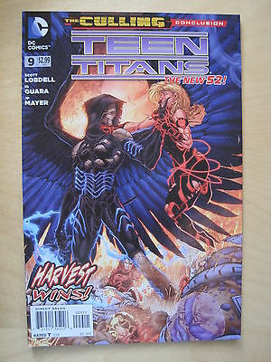 TEEN TITANS   # 9  by LOBDELL & GUARA. 1st  PRINT. THE NEW 52 ! DC.2012