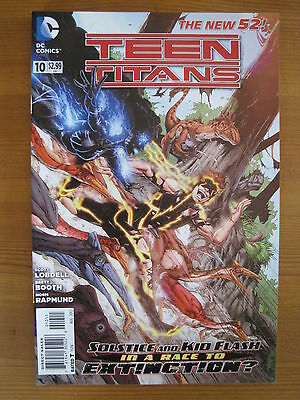 TEEN TITANS  10. By SCOTT LOBDELL.   1st   PRINTING. THE NEW 52 !  DC. 2012