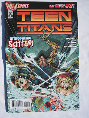 TEEN TITANS  2.   1st   PRINTING.    THE NEW 52 !     DC.  2011