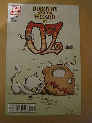 WIZARD of OZ. DOROTHY & the WIZARD IN OZ  7 ( of 8 ). ERIC SHANOWER. MARVEL.2012
