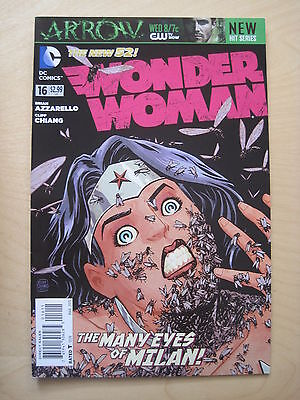 WONDER WOMAN  #  16.  By BRIAN AZZARELLO. THE NEW 52.  DC. 2013