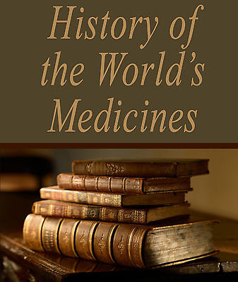 260 Rare History of Medicine Books on DVD - Medical Surgery Drugs Herbs Cures 38
