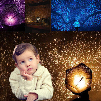 Celestial Star Cosmos Kids Lamp Night Lights Constellation Starry Sky Projector