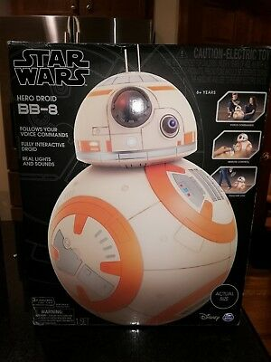 Brand New Star Wars Hero Droid BB-8 Fully Interactive Droid