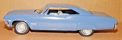 Monogram 1/25 Scale '65 Chevy Impala SS 396 BUILT Plastic Model Car with Box