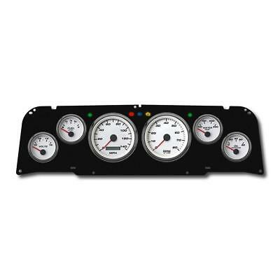 New Vintage USA 64011-03 6 Gauge Performance White 64-66 Chevy