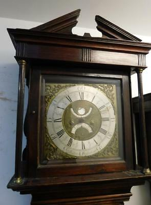 thos lister longcase clock and a lister longcase movement , 2 items