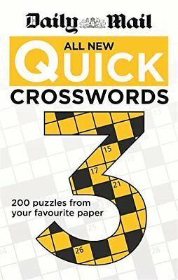 Daily Mail: All New Quick Crosswords 3 (The Daily Mail Puzzle B... by Daily Mail