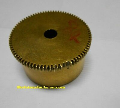 Repairs to damaged French Clock barrel teeth for Horologists, Clock Restorers