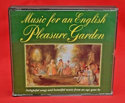 Music For An English Pleasure Garden :   3 Cd Set - Beautiful Condition!