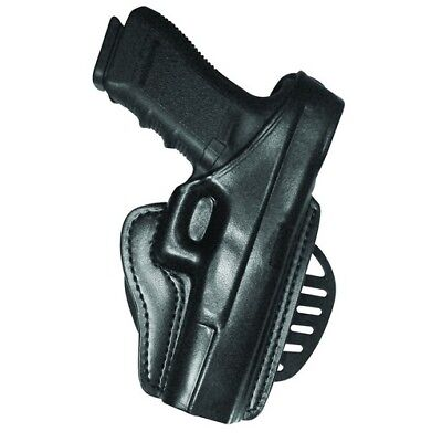 Gould & Goodrich B807-195LH Black LH Paddle Holster For Most 1911 Type Pistols