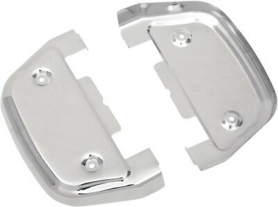Drag Specialties Passenger Floorboard Covers - Chrome 1621-0123 P17-0451