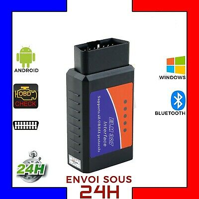 Interface Diagnostic Multimarque ELM327 BLUETOOTH  PRO OBD2   Android