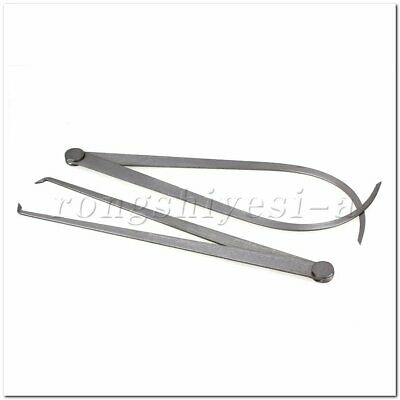 2 x Inside Outside Calipers 300mm Length Machinist Measuring Metalworking Tools