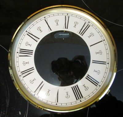 Brass Clock Bezel with Glass and Dial