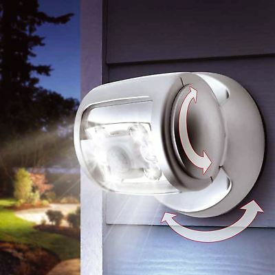 Indoor Outdoor Garden Wall Patio Shed Motion Activated Cordless Sensor LED Light