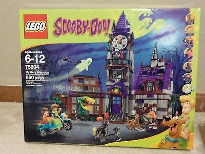 LEGO Scooby Doo Mystery Mansion /& Machine WHOLE GANG 75904 75902 Sealed NEW