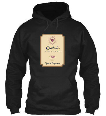 Goodwin Im A Fine Wine - Vineyard Vintage 1900 Aged To Standard College Hoodie