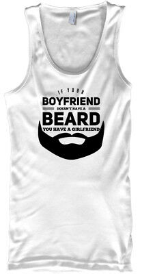 Printed If Your Boyfriend Doesnt Have A Beard - Doesn't You Male Tank Top