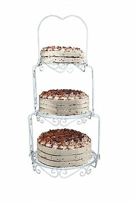 achilles 3 tiers cakestand, wedding cake plate, vintage cake plate