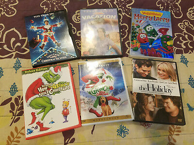 Christmas Holiday Family Movies ~ You Pick! DVD Lot