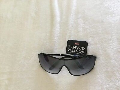 Foster Grant Stylish And Practical NWT Men/'s Sunglasses Merrier colored Black