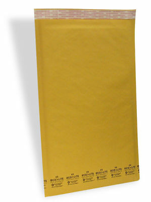 #6 12.5x19 Kraft Ecolite Bubble Mailers Padded Envelopes Bags 12.5 x 19  50, 100