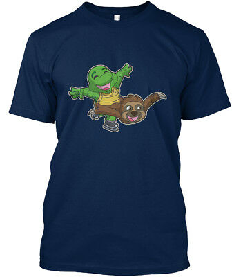 Comfortable Figure Skating Pairs Turtle And Sloth Standard Unisex T-shirt