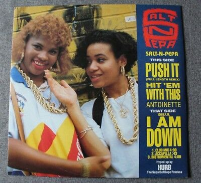 Salt N pepa / Antoinette, push it - i am down, Maxi Vinyl