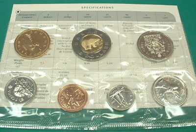 Canada  2000 W   Proof-Like Set  *** 7 Coins ***