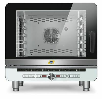Combination Steamer Electronic, 812x725x770 mm, 5x Gn 1/1 , Steamer, Damper