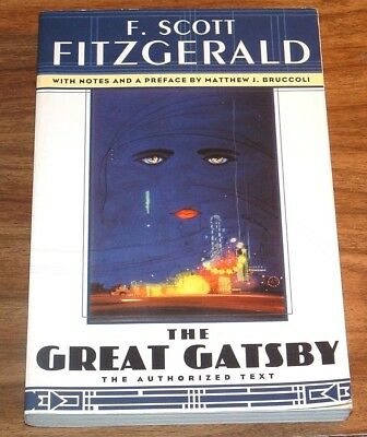 F.SCOTT FITZGERALD The Great Gatsby *NFINE L/N* SCRIBNER CLASSIC TPB UNABRIDGED