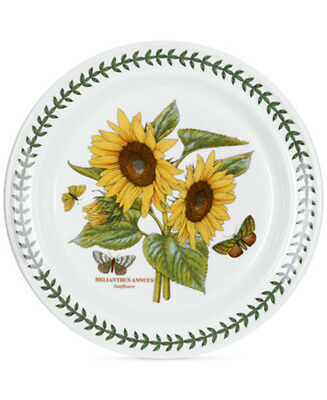 "Portmeirion Botanic Garden Dinner Plate 10.5"" Sunflower England NEW"