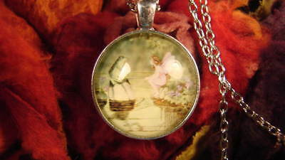 ~Beautiful Fairy & Frog Amulet & Spell Scroll Gift~Fairy Magick Vessel~