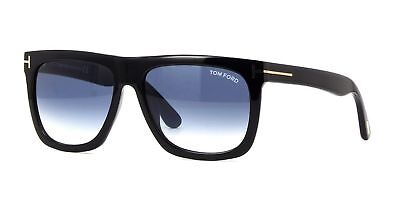 1c66dda434 TOM FORD SUNGLASSES 0513 Morgan 01W Shiny Black Blue Gradient - EUR ...