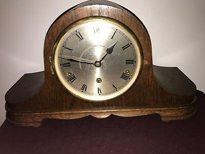 1920's Westminster Chiming Mantel Clock In Working Order