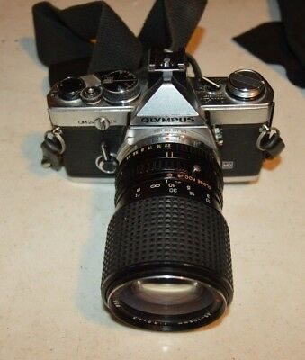 Olympus OM-2 35mm Camera with TOKINA 1:35-4.3 Lens