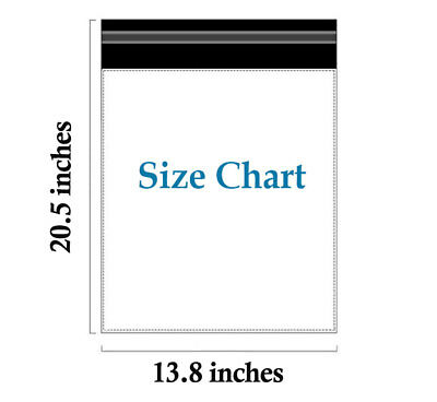 """100 Large Poly Mailers 14x20"""" Self Sealing Shipping Bags Mailing Envelopes"""