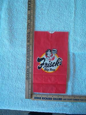 1 Big boy Bag approx 6 x 11 inches  NOS Framable style 1 see back