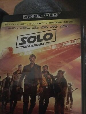 Solo: A Star Wars Story 4K Ultra HD BLU-RAY ULTIMATE COLLECTORS ED 7869385906