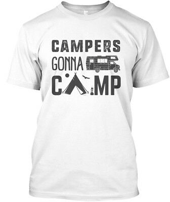 Easy-care Campers Gonna Camp - Unisex Organic T-Shirt Unisex Organic T-Shirt
