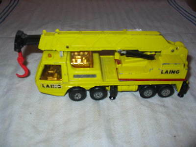 Matchbox Super Kings Hercules Mobile Crane 1974