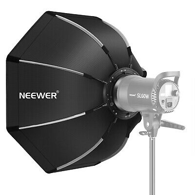 Neewer 65 Centímetros Softbox Octogonal Plegable con Bowens Montura Speedring
