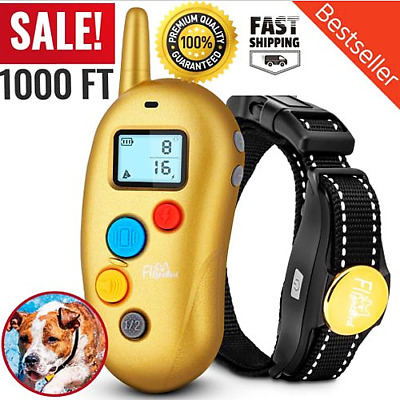 Dog Shock Training E Collar With Remote Coach Electric Trainer Small Large Big